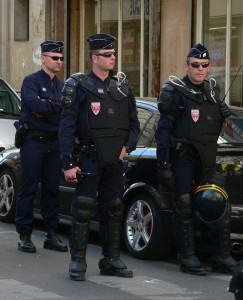 Motards CRS Effectif en baisse …