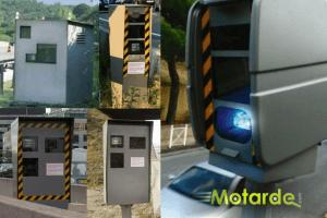 les versions et générations de cabines radars automatiques