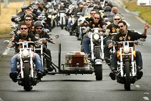 Reportage biker : Hell's  Angels et Bandidos