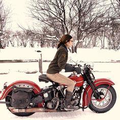 Moto : Avoir chaud en moto l'hiver c'est possible !