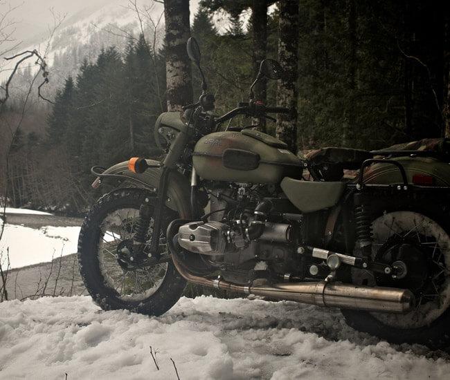 équipement moto pour hiver