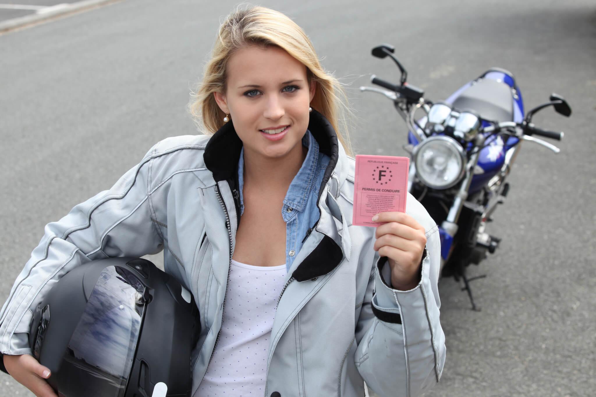 Permis de conduire moto montreal