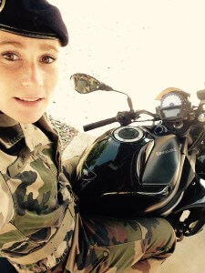 Portrait d'une motarde : Kathleen