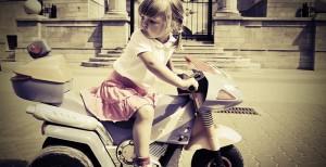 Les 10 erreurs de la débutante à moto