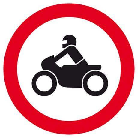 les interdits moto