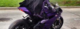 sécurité de la motarde