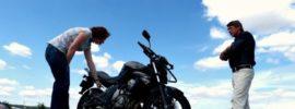 vérifier sa moto avant départ