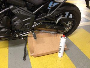 Test : Graisse Chaîne Moto IPONE SPRAY CHAIN : Super Glue
